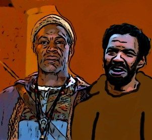 DANNY GLOVER & SHAWN ASHMORE in Legend of Earthsea *Editorial Use Only* www.capitalpictures.com sales@capitalpictures.com Supplied by Capital Pictures